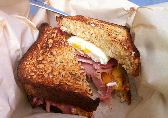 The American Grilled Cheese Kitchen Does Breakfast | GF in SF