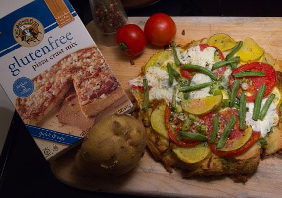 King Arthur Gluten Free Pizza Crust Mix Gf In Sf